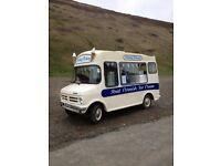 Ice cream van - Vintage Bedford Morrison CF 1979
