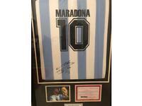 Signed Diego Maradona shirt