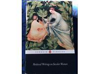 Medieval writing on secular women
