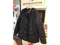 Vertbaudet winter maternity jacket size 12