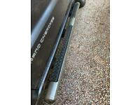 Pair of side steps + brackets for Jeep Grand Cherokee