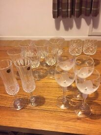 Variety of Glasses