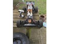 Rc baja hopped up 29cc lots alloy hop ups