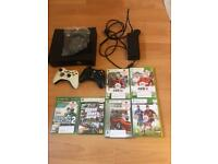 For sale Xbox 360 with 2 joystick and 6 games. Can deliver