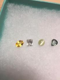 Sapphires stones