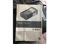 Bosch DLE 40 Professional Range Finder