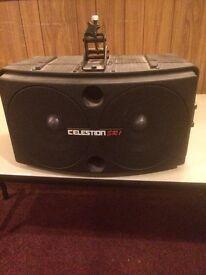 2 x SR1 Celestion Speakers