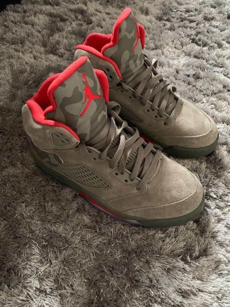 online store 75689 69a29 Nike Air Jordan 5 Camo 'Bape' | in Whitwick, Leicestershire | Gumtree