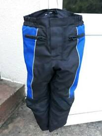 Motorcycle trousers kids textile(age 6to8)