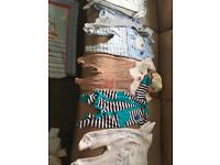 Baby clothes 0-3 months bundle and mothercare teddy bear Luxury playmat and Activity more toys