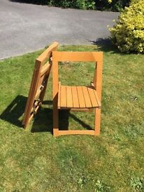 Two Folding Chairs - £10