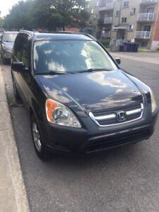 Honda CR-V AWD 2002 185000km for sale $4500