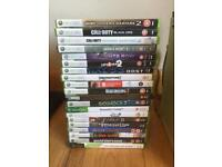 20GB Xbox 360, 20 games, controller and wireless adapter
