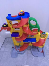 Fisher Price Little People Wheelies Stand