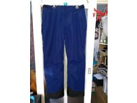 Ladies Ski Trousers/Salopettes Blue Large