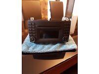 Mercedes CD van radio