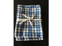 Brand new set of four tea towels (debenhams)