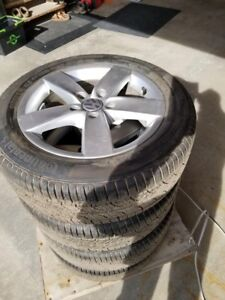 OEM VW Jetta Wheel Set