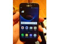 Free Delivery!! Samsung Galaxy S7 SM-G930F black onyx unlocked mobile