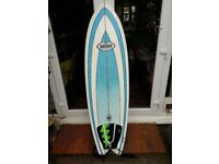 Surfboard 6ft REDUCED FOR QUICK SALE !!!!!! with board bag and leash