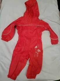 Regatta waterproof suit 1-2 years