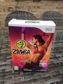 Zumba Fitness Wii With Fitness Belt