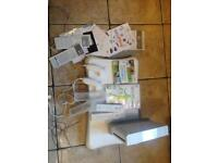 Nintendo wii complete board and games