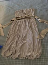 Ladies silky dress size 8