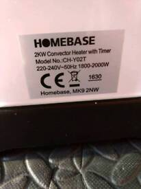 Homebase 2kW Heater with Timer