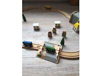 BigJigs Wooden Train Track