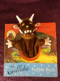 The gruffalo puppet book