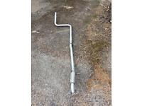 Ford Fiesta zetec s middle pipe