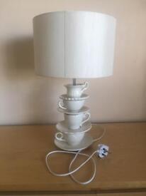 Tea cup lamp light sidelight