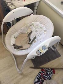 Baby swing electric used for 2 weeks paid £100