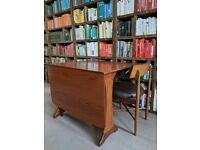 G Plan Fresco TABLE (or desk?) gate leg drop leaf vintage mid mod Brighton gplanera