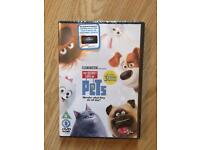 The secret life of pets DVD new