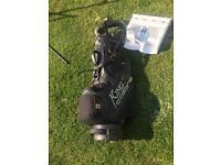 Kings cobra golf bag and clubs