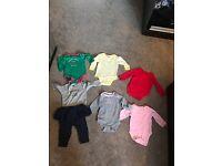 Baby girl bodysuits bundle - 3-6 months