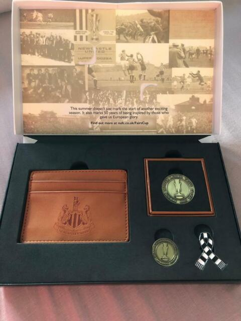 NUFC PRESENTATION BOX WITH WALLET, BADGES AND COIN | in Choppington,  Northumberland | Gumtree