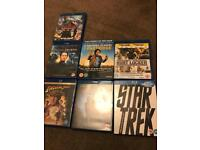 17 blue ray and DVDs