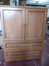2 drawer and cupboard