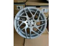 """Brand new 18"""" Stuttgart ST12 alloy wheels 5x112 Audi VW Merc Seat"""