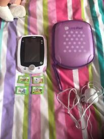 LeapPad with games