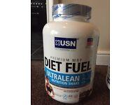 Sealed USN Diet Fuel 2kg Chocolate Cream Protein Powder Ultralean Shake *3 available*