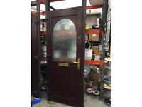 3x Pvc Doors (brown)