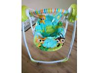 Excellent condition baby swing seat