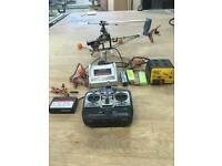 Twister 3D radio controlled helicopter