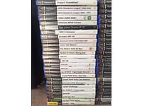 Playstation 2 Console & 106 games