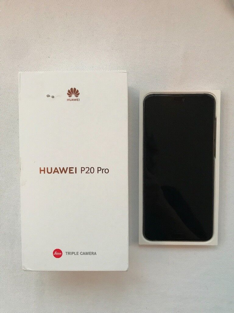 MINT CONDITION HUAWEI P20 PRO - 128GB - Midnight Blue - used for a week  before returning to iPhone | in Hampstead, London | Gumtree