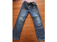 Boys jeans age 11-12. Barely worn. Too small.